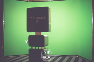 Animation photo fond vert - vip box