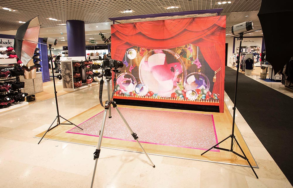 photocall - stand parapluie