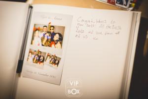 photobooth pour mariage - livre d'or