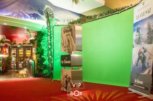 Photocall fond vert - vipbox