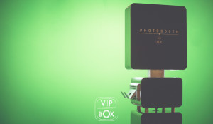 VIP BOX - fond vert