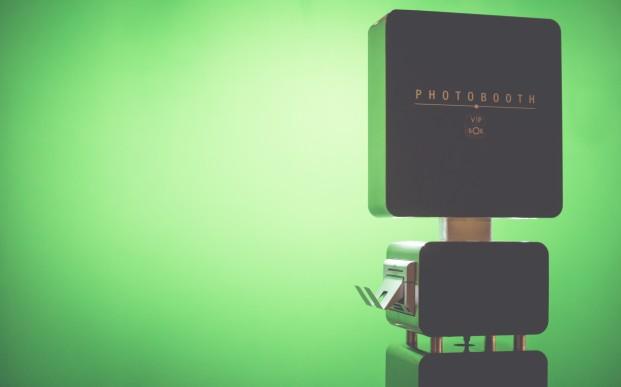 photobooth - incrustation fond vert