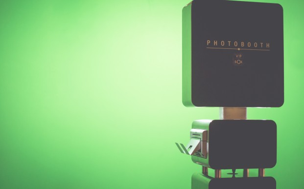 Photobooth - fond vert
