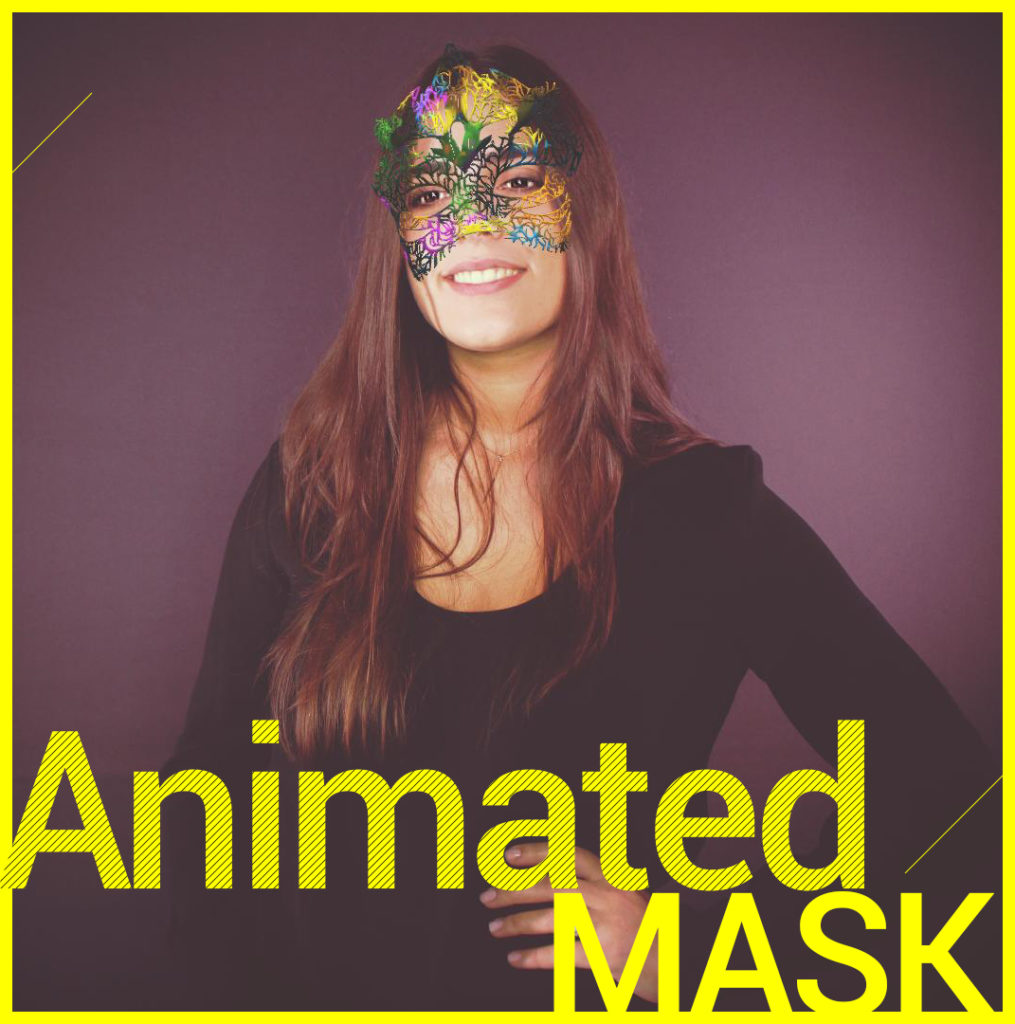 Photobooth Snapchat VIPBOX - Animated Mask