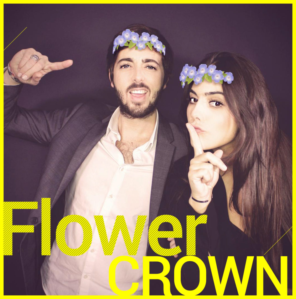 Photobooth Snapchat VIPBOX - Flower Crown