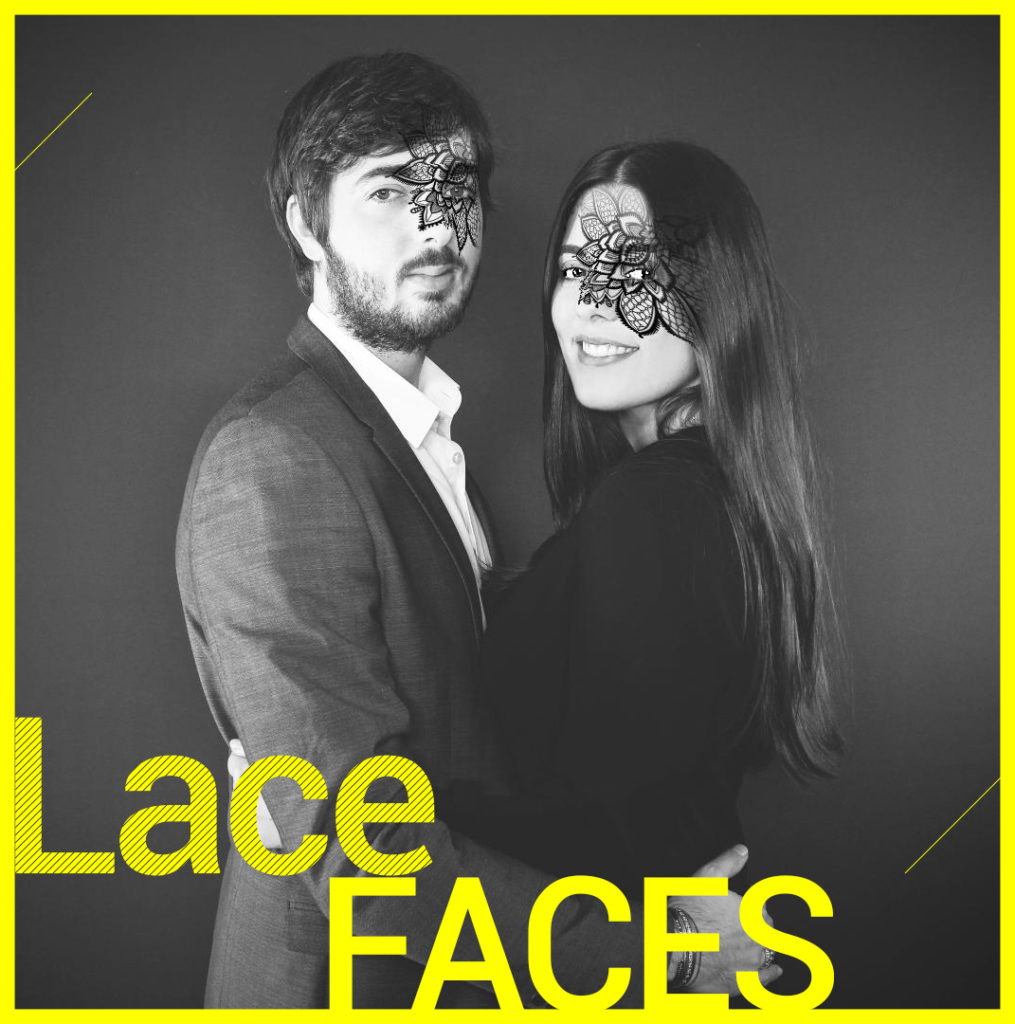 Photobooth Snapchat VIPBOX - Lace faces