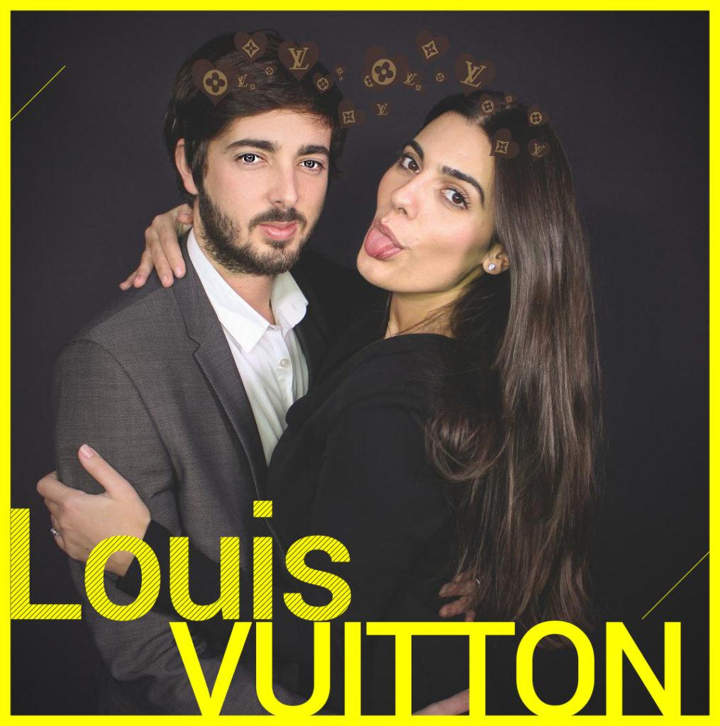 Photobooth Snapchat VIPBOX - Louis Vuitton