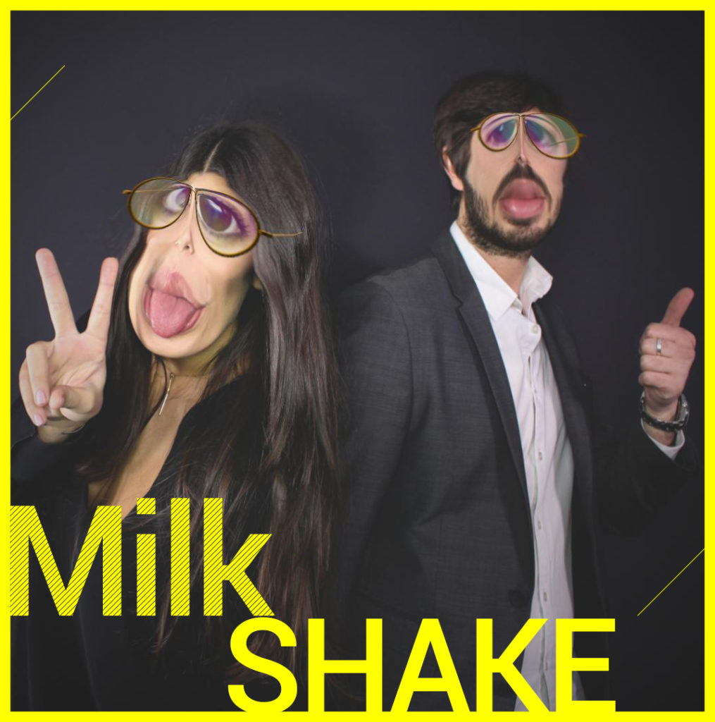 Photobooth Snapchat VIPBOX - Milk Shake