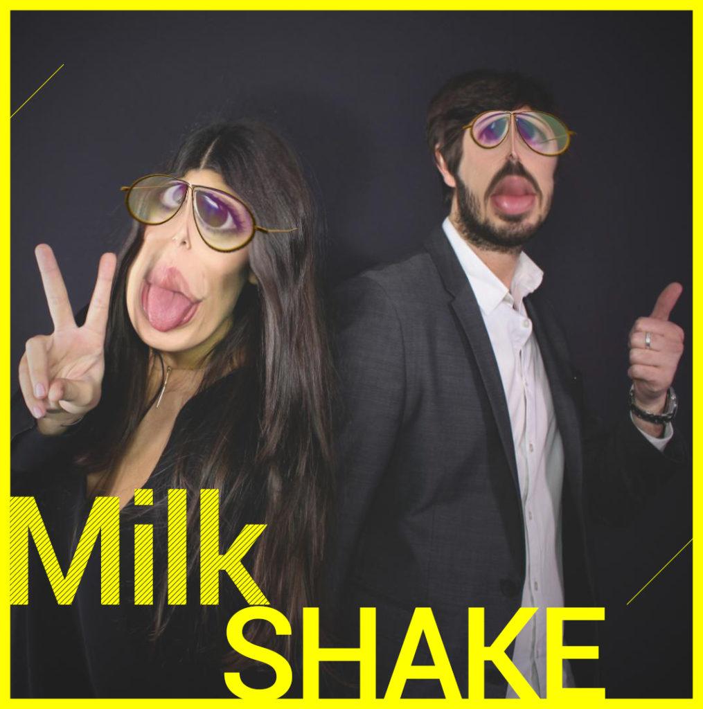 Photobooth Snapchat VIPBOX - Milk Shake