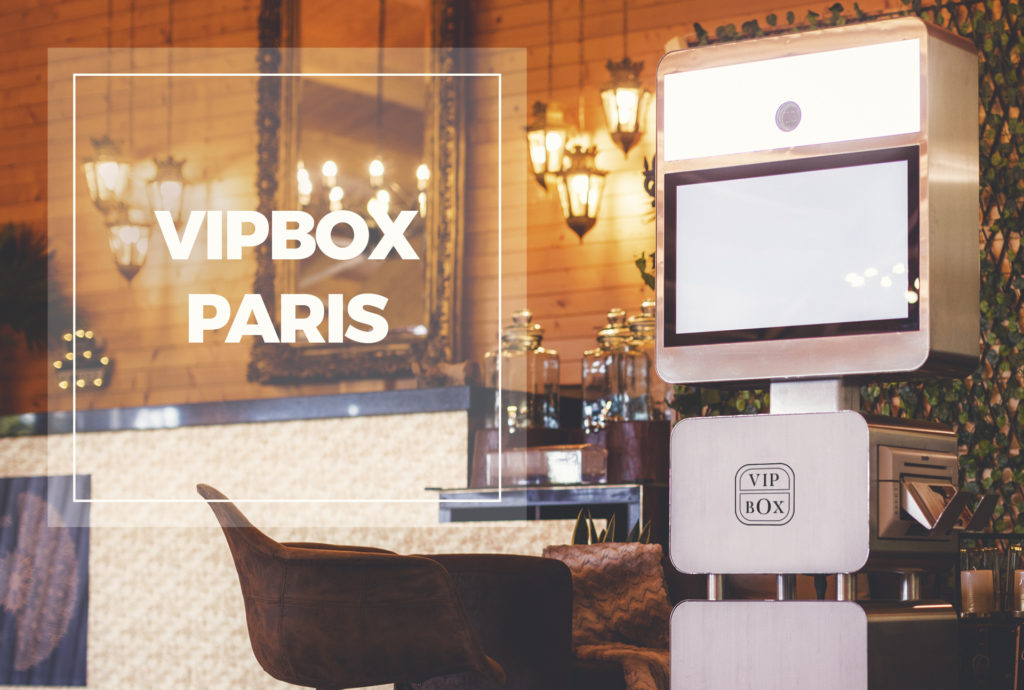 photobox paris - borne photo paris - VIP BOX