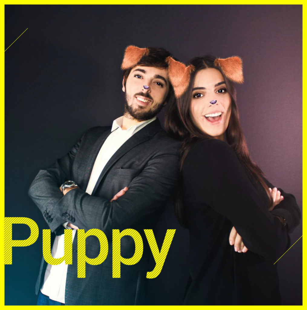 Photobooth Snapchat VIPBOX - Puppy
