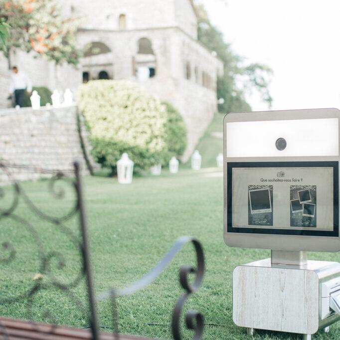 borne photo selfie mariage