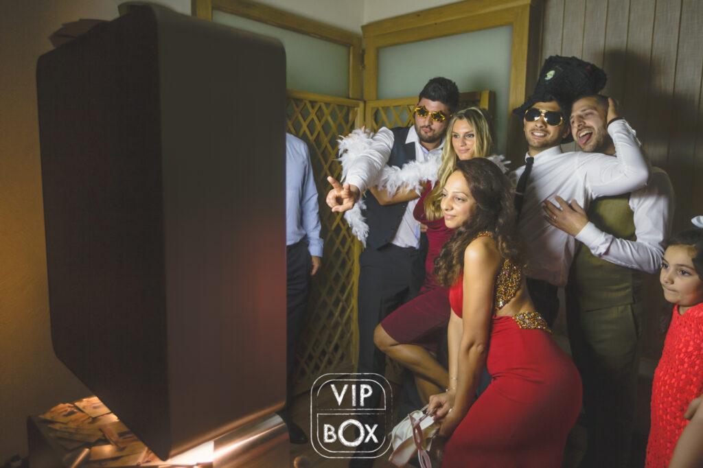 location selfie box mariage