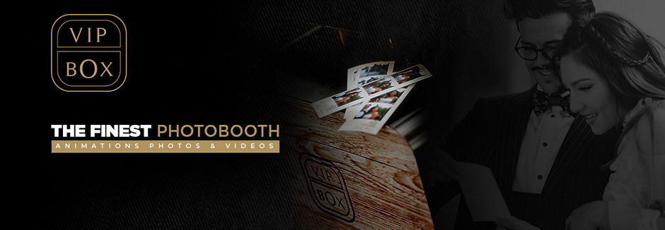 VIP box – photobooth & animations photos